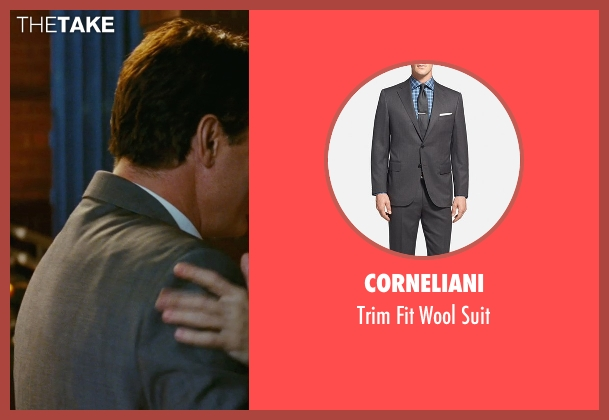 Corneliani gray suit from Sex and the City seen with Chris Noth (Mr. Big)