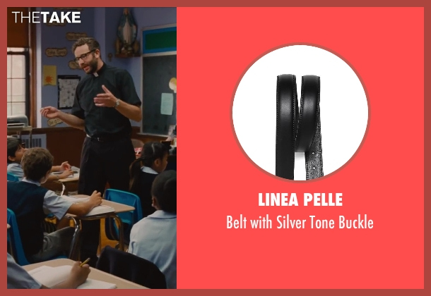 Linea Pelle black buckle from St. Vincent seen with Chris O'Dowd (Brother Geraghty)