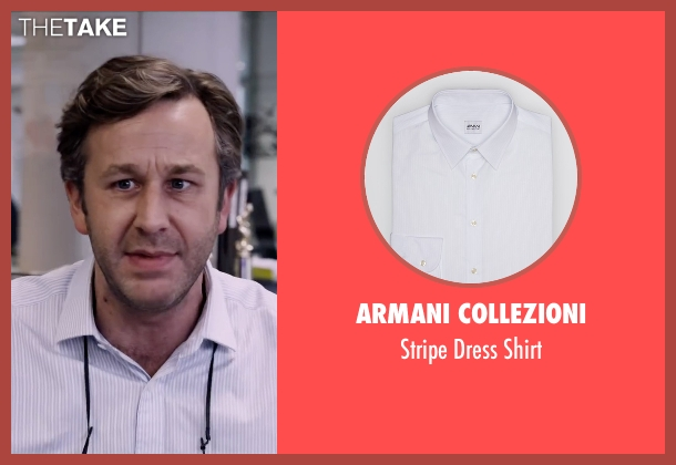 Armani Collezioni white shirt from The Program seen with Chris O'Dowd (David Walsh)