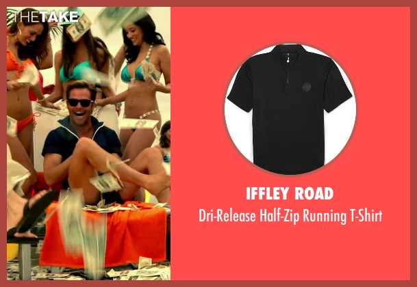 Iffley Road black t-shirt from Horrible Bosses 2 seen with Chris Pine (Rex)