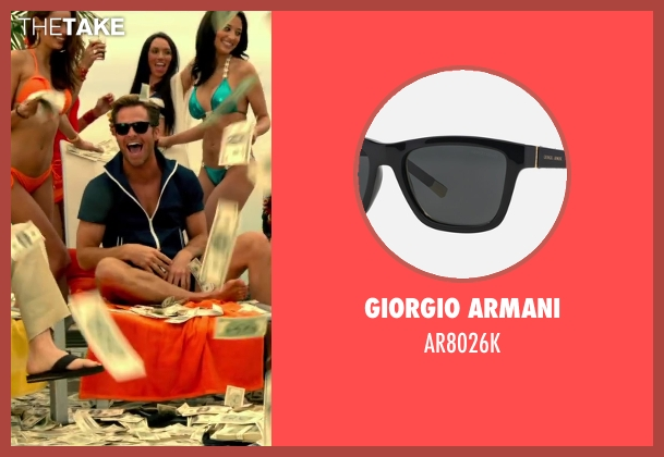 Giorgio Armani brown ar8026k from Horrible Bosses 2 seen with Chris Pine (Rex)