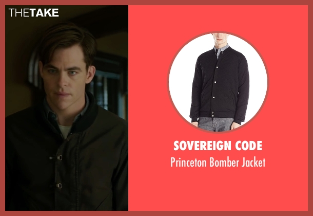 Sovereign Code black jacket from The Finest Hours seen with Chris Pine (Bernie Webber)