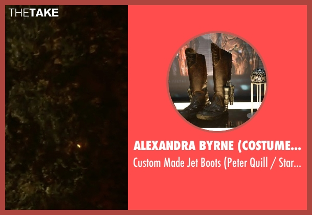 Alexandra Byrne (Costume Designer) black boots from Guardians of the Galaxy Vol. 2 seen with Chris Pratt (Peter Quill / Star-Lord)