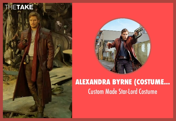 Alexandra Byrne (Costume Designer) costume from Guardians of the Galaxy Vol. 2 seen with Chris Pratt (Peter Quill / Star-Lord)