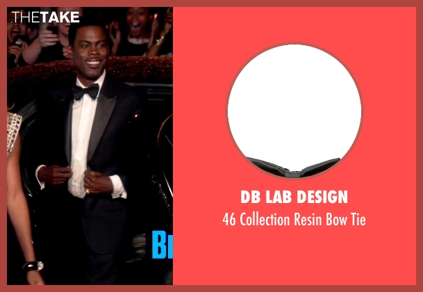 Db Lab Design black tie from Top Five seen with Chris Rock (Andre Allen)
