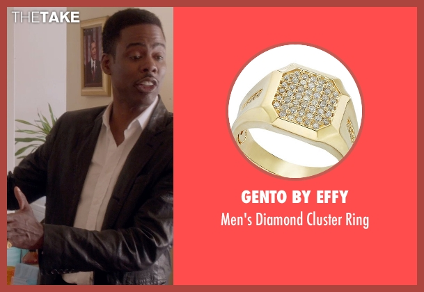 Gento By Effy gold ring from Top Five seen with Chris Rock (Andre Allen)
