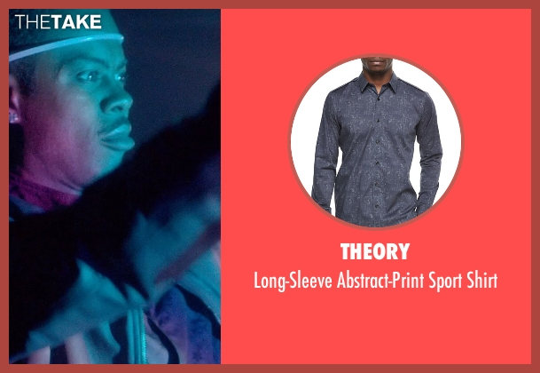 Theory gray shirt from Top Five seen with Chris Rock (Andre Allen)