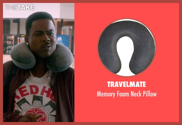 TravelMate pillow from Top Five seen with Chris Rock (Andre Allen)