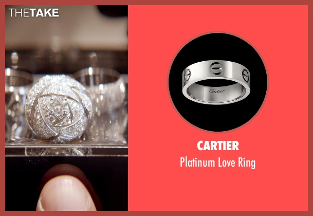 Cartier white ring from Top Five seen with Chris Rock (Andre Allen)
