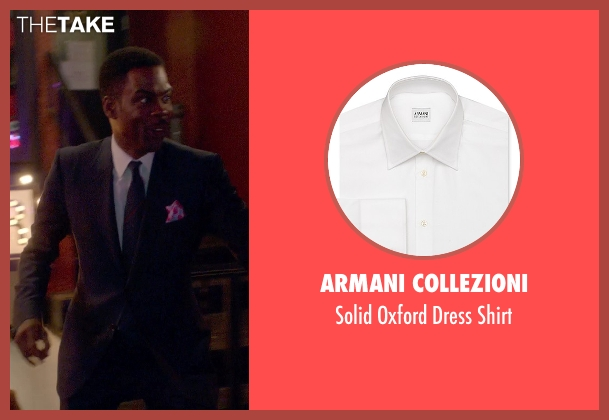 Armani Collezioni white shirt from Top Five seen with Chris Rock (Andre Allen)