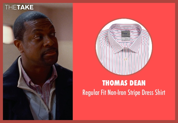 Thomas Dean pink shirt from Silver Linings Playbook seen with Chris Tucker (Danny)
