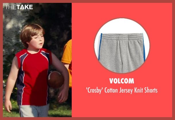 Volcom gray shorts from Cut Bank seen with Christian Distefano (Wyatt)
