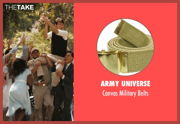 Army Universe beige belts from (500) Days of Summer seen with Christian Vincent (Dancer)