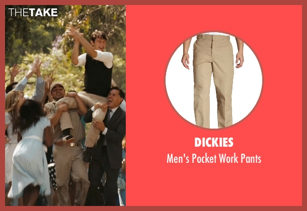 Dickies pants from (500) Days of Summer seen with Christian Vincent (Dancer)