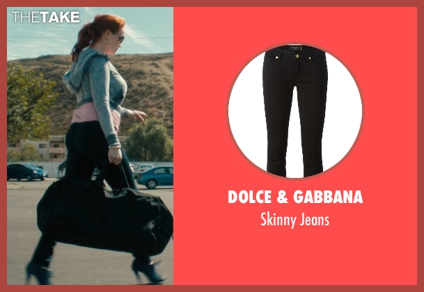 Dolce & Gabbana black jeans from Drive seen with Christina Hendricks (Blanche)