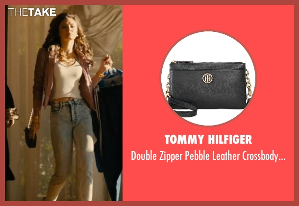Tommy Hilfiger black bag from Bleed for This seen with Christine Evangelista (Ashley)