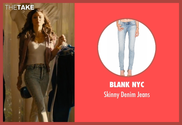 Blank NYC blue jeans from Bleed for This seen with Christine Evangelista (Ashley)