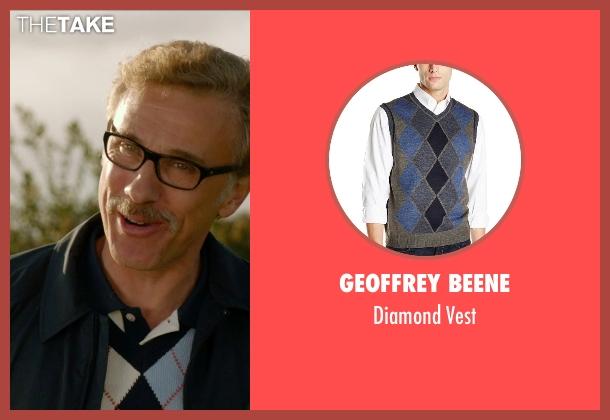 Geoffrey Beene vest from Horrible Bosses 2 seen with Christoph Waltz (Burt Hanson)
