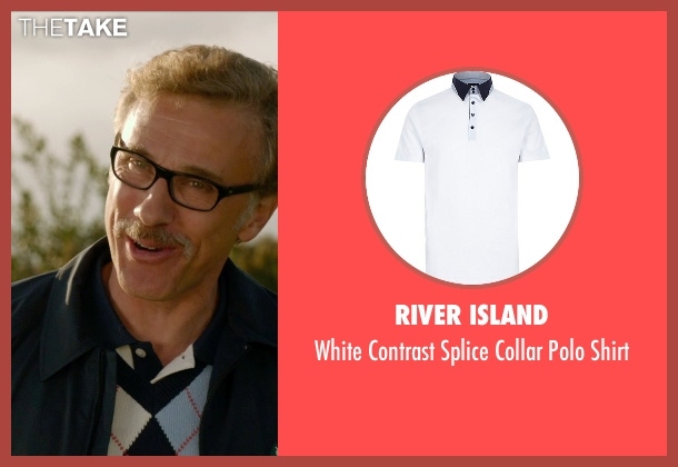 River Island white shirt from Horrible Bosses 2 seen with Christoph Waltz (Burt Hanson)