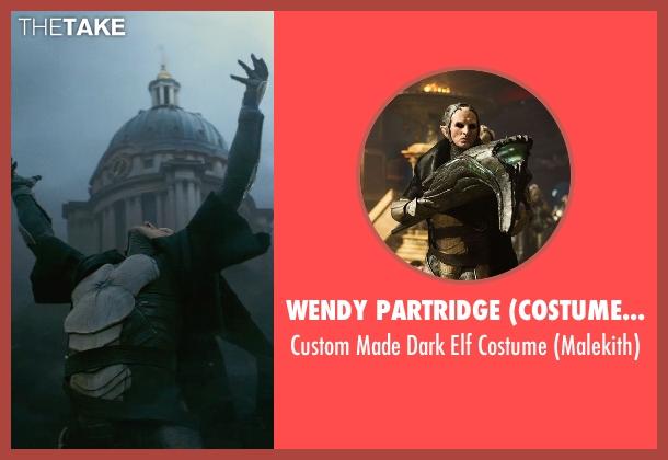 Wendy Partridge (Costume Designer) costume from Thor: The Dark World seen with Christopher Eccleston (Malekith)