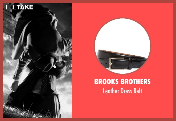 Brooks Brothers black belt from Frank Miller's Sin City: A Dame To Kill For seen with Christopher Meloni (Mort)