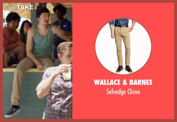 Wallace & Barnes chino from Neighbors seen with Christopher Mintz-Plasse (Scoonie)