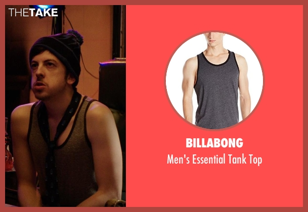 Billabong gray top from Neighbors seen with Christopher Mintz-Plasse (Scoonie)