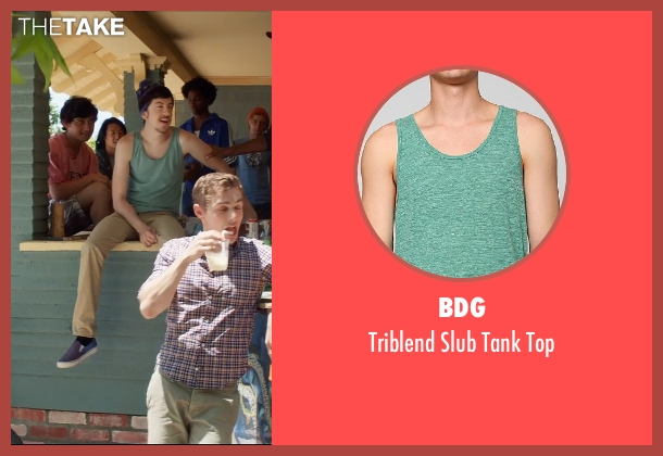 BDG green top from Neighbors seen with Christopher Mintz-Plasse (Scoonie)