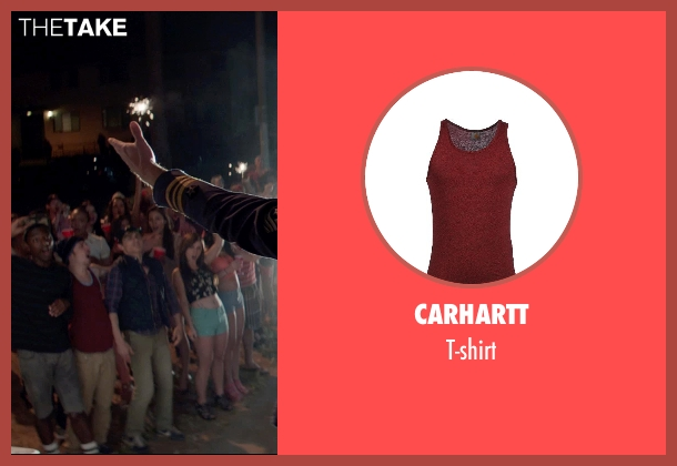 CARHARTT t-shirt from Neighbors seen with Christopher Mintz-Plasse (Scoonie)