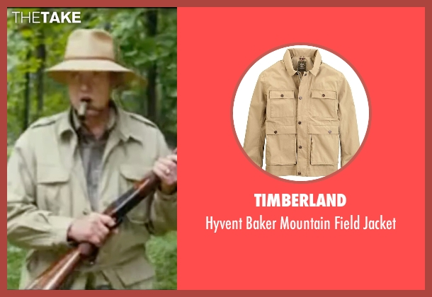 Timberland beige jacket from Wedding Crashers seen with Christopher Walken (Secretary Cleary)