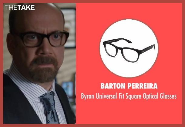 Barton Perreira black glasses from Billions seen with Chuck Rhoades (Paul Giamatti)