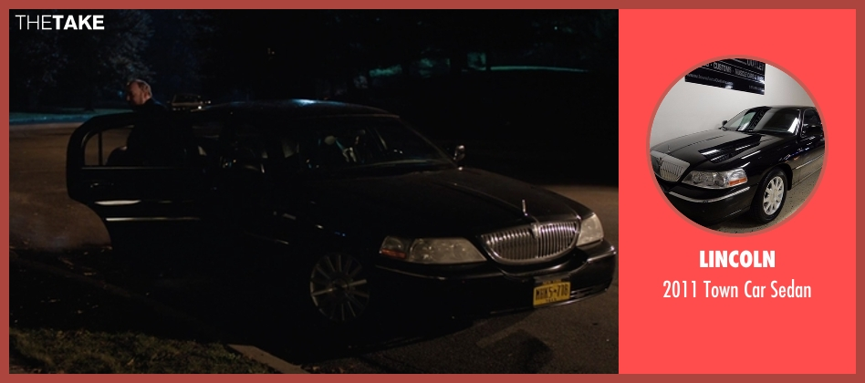 Lincoln sedan from Billions seen with Chuck Rhoades (Paul Giamatti)