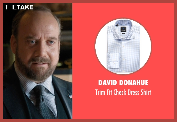 David Donahue white shirt from Billions seen with Chuck Rhoades (Paul Giamatti)