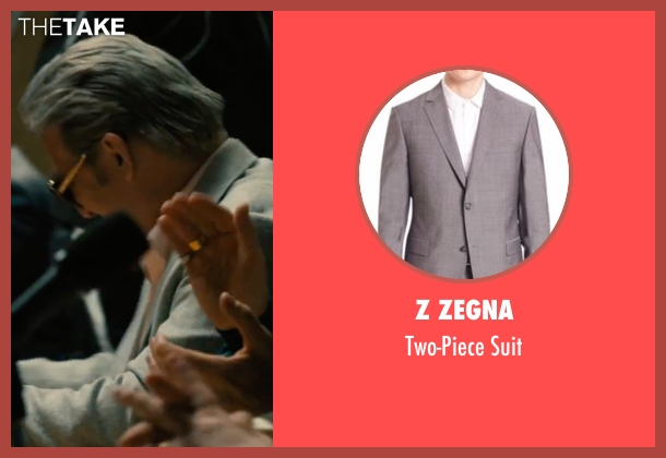Z Zegna gray suit from Bleed for This seen with Ciarán Hinds (Angelo Pazienza)