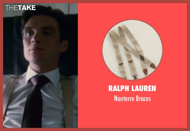 RALPH LAUREN beige braces from Inception seen with Cillian Murphy (Robert Fischer)