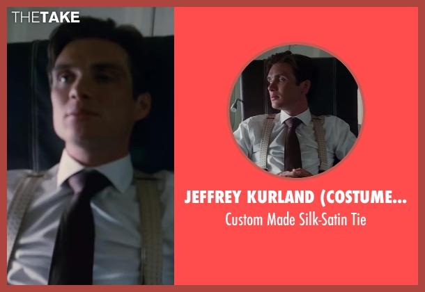 Jeffrey Kurland (Costume Designer) black tie from Inception seen with Cillian Murphy (Robert Fischer)