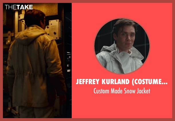 Jeffrey Kurland (Costume Designer) white jacket from Inception seen with Cillian Murphy (Robert Fischer)