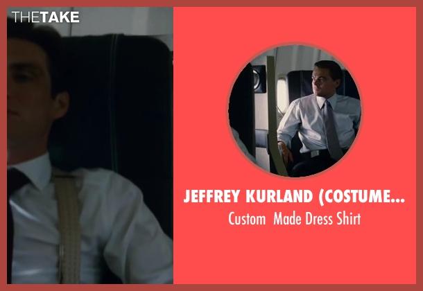 Jeffrey Kurland (Costume Designer) and Anto Beverly HIlls (Tailor) white shirt from Inception seen with Cillian Murphy (Robert Fischer)