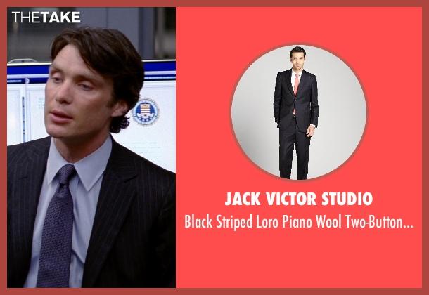 JACK VICTOR STUDIO black pants from Transcendence seen with Cillian Murphy (Agent Buchanan)