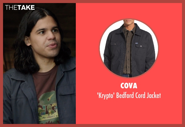 Cova black jacket from Arrow seen with Cisco Ramon / Reverb (Carlos Valdes)