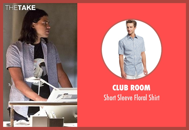 Club Room blue shirt from The Flash seen with Cisco Ramon / Reverb (Carlos Valdes)