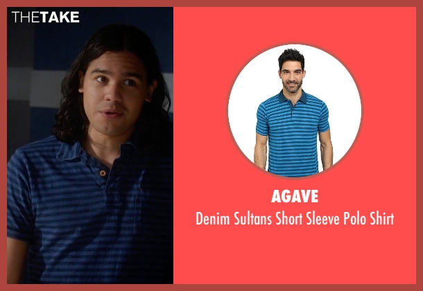Agave blue shirt from The Flash seen with Cisco Ramon / Reverb (Carlos Valdes)