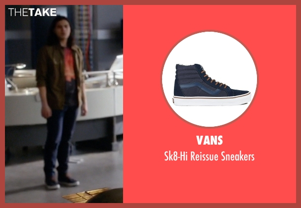 Vans blue sneakers from The Flash seen with Cisco Ramon / Reverb (Carlos Valdes)