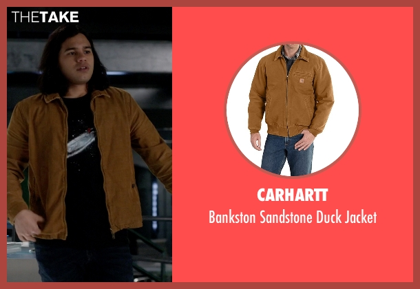 Carhartt brown jacket from The Flash seen with Cisco Ramon / Reverb (Carlos Valdes)
