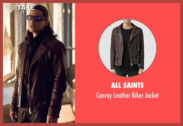 All Saints brown jacket from The Flash seen with Cisco Ramon / Reverb (Carlos Valdes)
