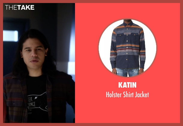 Katin gray jacket from The Flash seen with Cisco Ramon / Reverb (Carlos Valdes)
