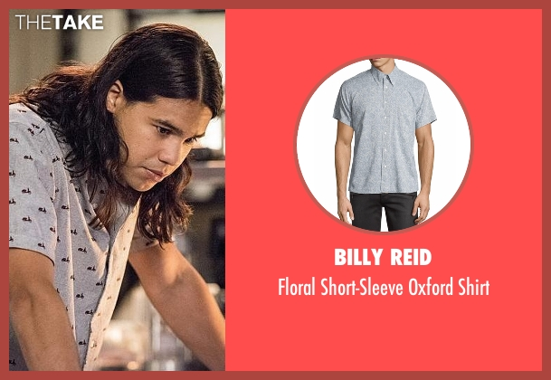 Billy Reid gray shirt from The Flash seen with Cisco Ramon / Reverb (Carlos Valdes)