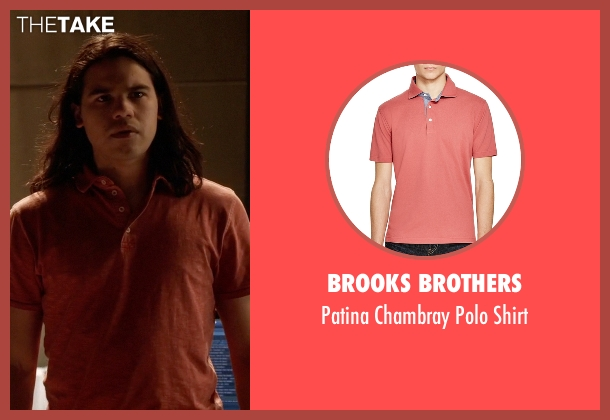 Brooks Brothers red shirt from The Flash seen with Cisco Ramon / Reverb (Carlos Valdes)