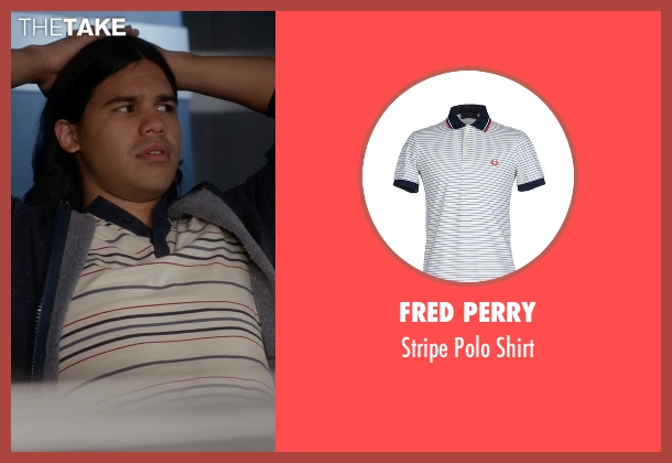 Fred Perry white shirt from The Flash seen with Cisco Ramon / Reverb (Carlos Valdes)