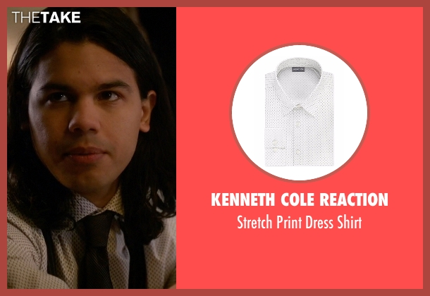 Kenneth Cole Reaction white shirt from The Flash seen with Cisco Ramon / Reverb (Carlos Valdes)